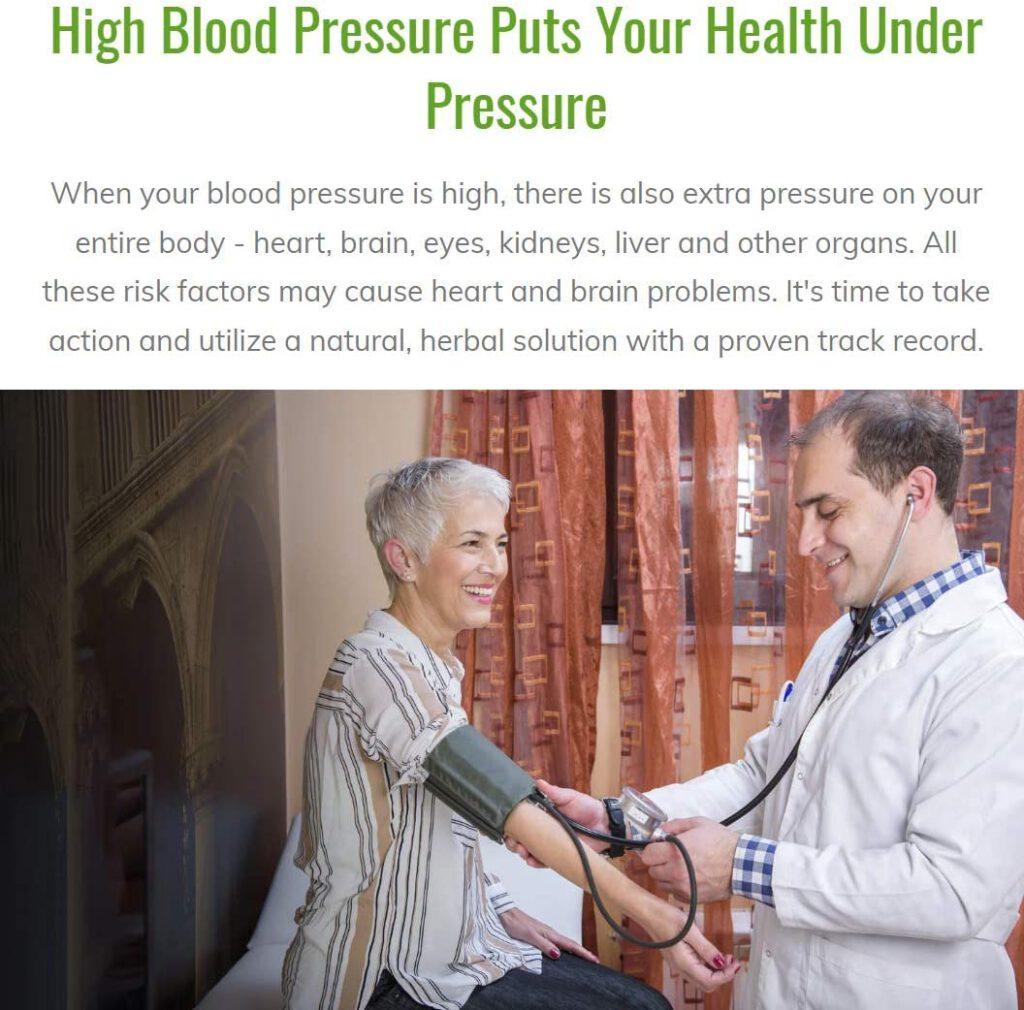 Blood Pressure Optimizer customer review