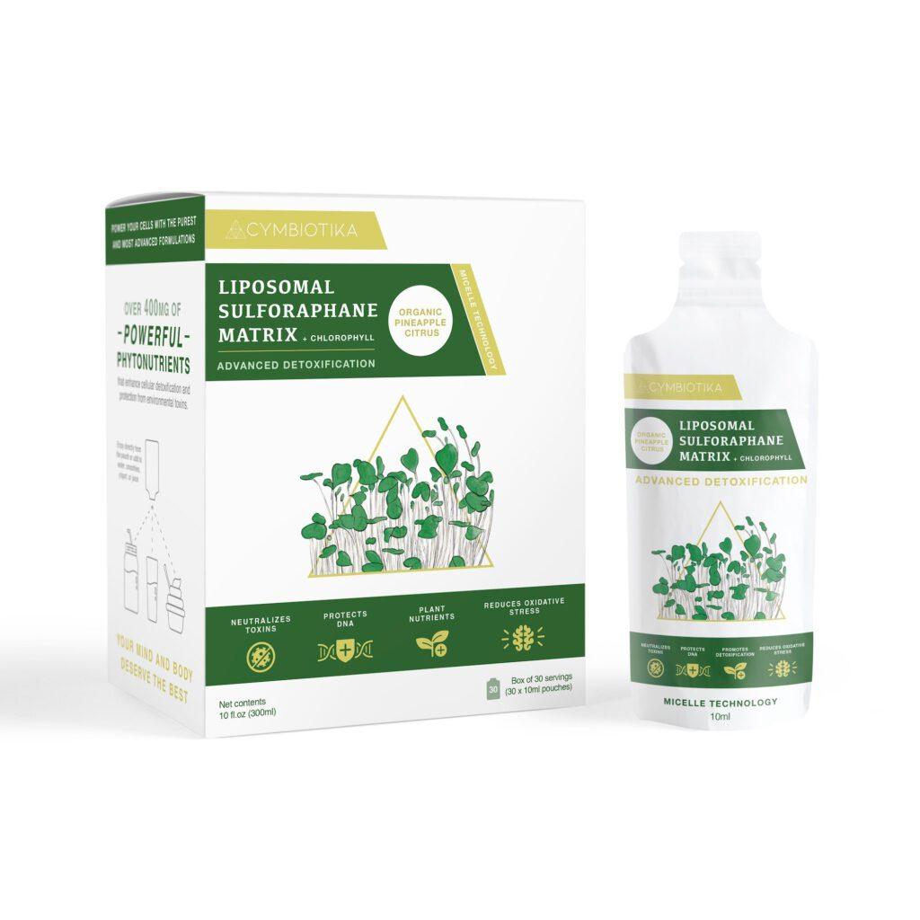 Cymbiotika Liposomal Sulforaphane Matrix + Chlorophyll