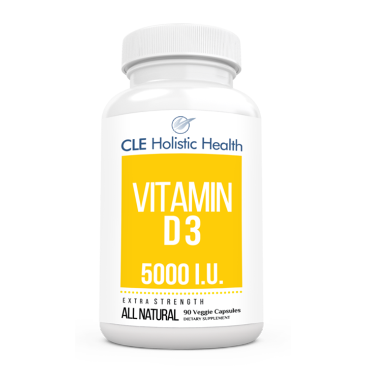 CLE Vitamin D3 5000 I.U.