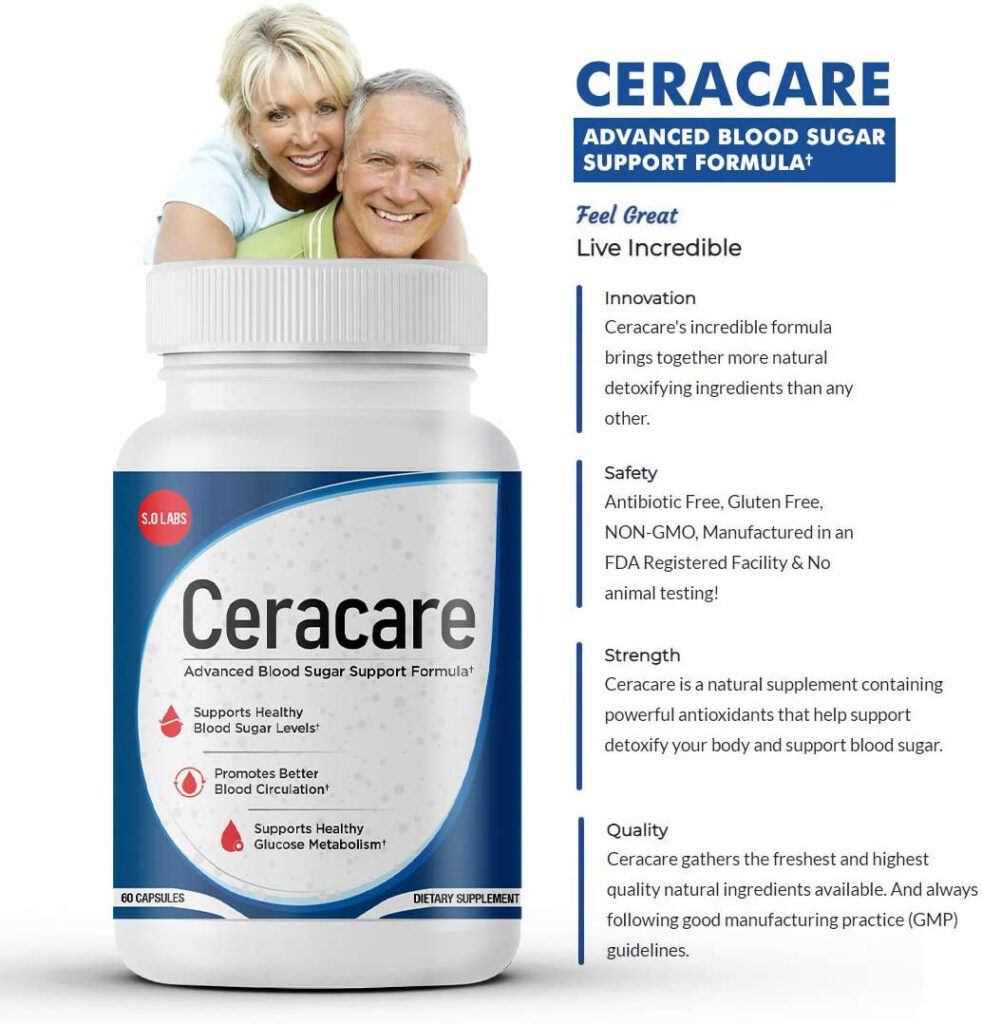 Ceracare Advanced Blood Sugar Support
