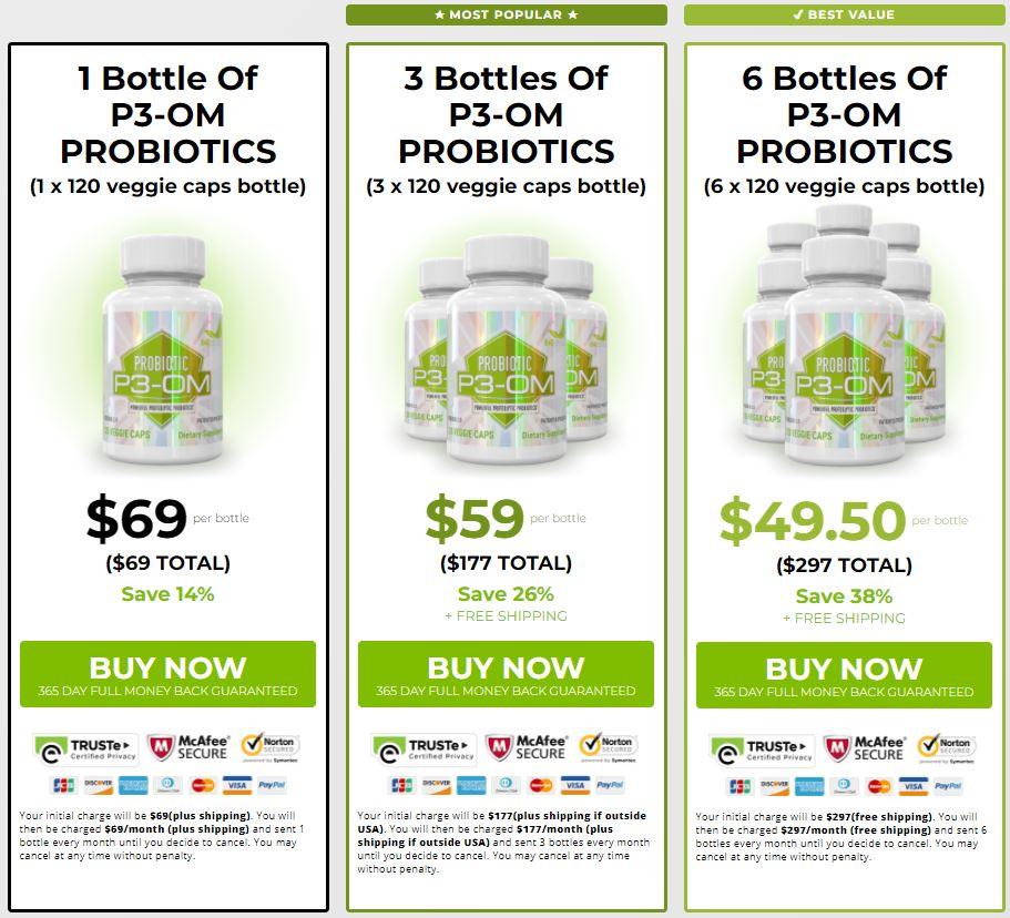 P3-OM Probiotic Best Price