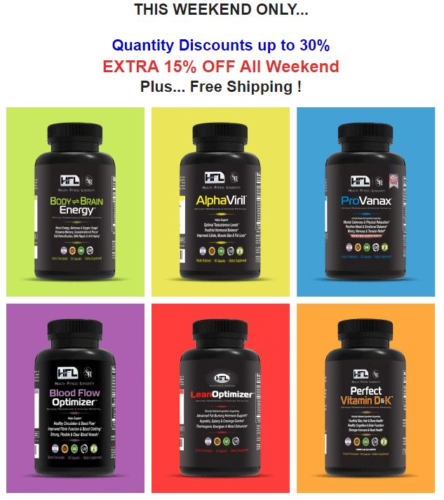 HFL products discount