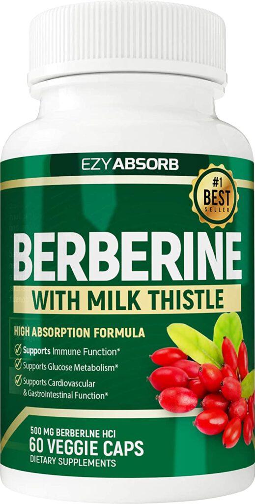 EzyAbsorb Gluten-Free Berberine 500mg
