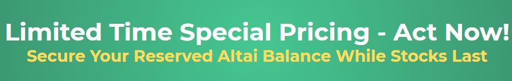 altaibalance discount price